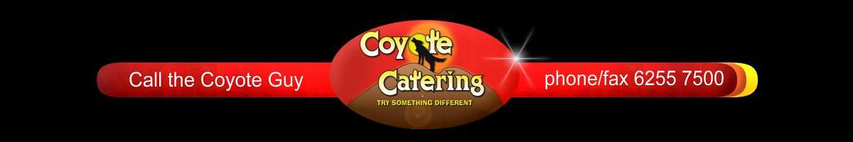 Coyote Catering Banner