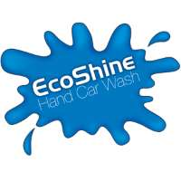 EcoShine Hand Car Wash Logo