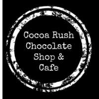 Cocoa Rush Chocolate Shop & Cafe Logo
