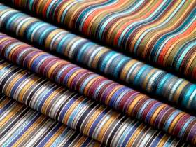 Fabrics (drapery and upholstery)