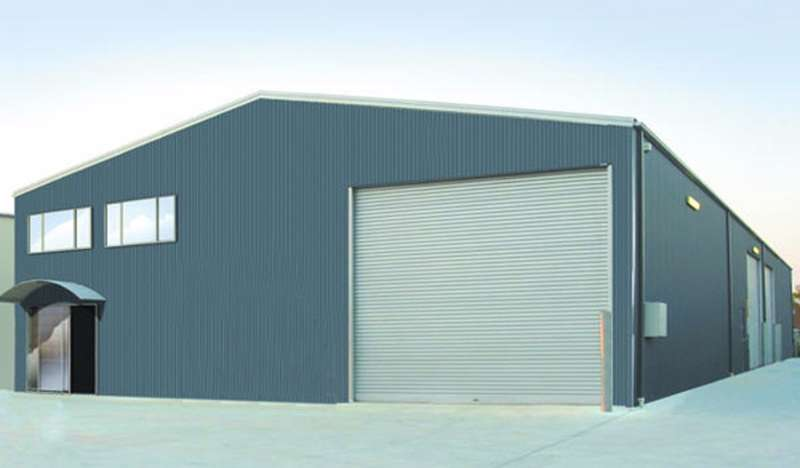 Gentil Steel Storage Shed Best Fit For Industrial Spaces