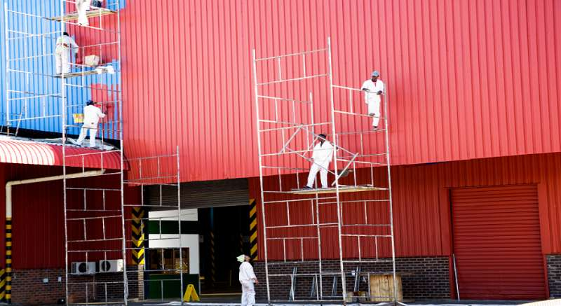 Commercial Painting Tips for Transforming a Dull Commercial Property