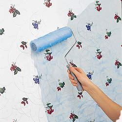 Tips For Painting Over Your Existing Wallpaper