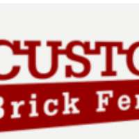 Custom Brick Fences Logo