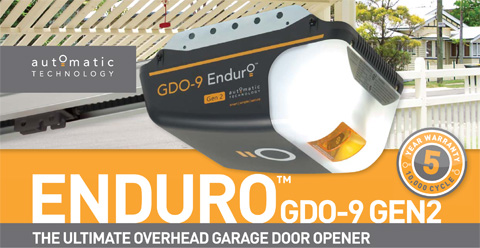 THE ULTIMATE OVERHEAD GARAGE DOOR OPENER