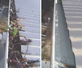 Colorbond Gutter Guards