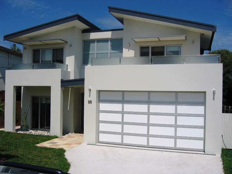 Acrylic Aluminium Panel Lift Garage Door