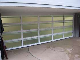 Delta Opaque Sectional Garage Door