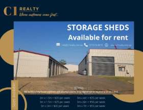 Storage Shed For Rent