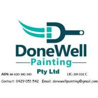 DoneWell Painting Logo