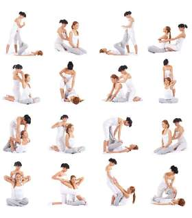 Traditional Thai Stretching Massage 1