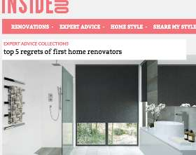 Inside Out – Top 5 Regrets Of First Home Renovators
