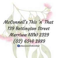 McConnell's This 'n' That  Logo
