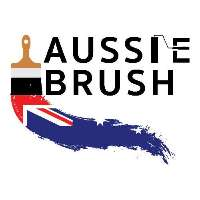 Aussie Brush Painting Logo