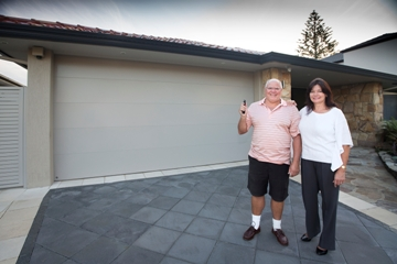 Renovation Leads to Smooth Garage Door