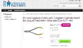 Buy Pin and ligature cutter with tc