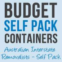 Budget Self Pack Containers Logo